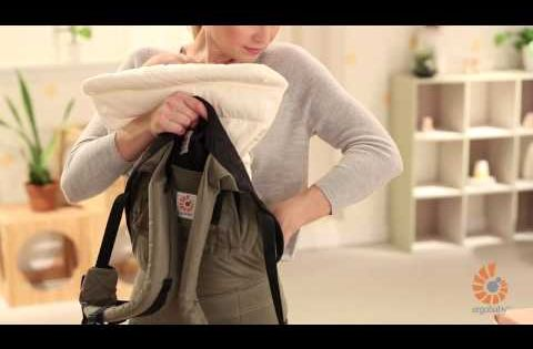 How To Ergobaby Infant Insert 3 Months With Baby