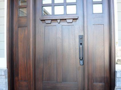 Beautiful Craftsman-Style Front Door