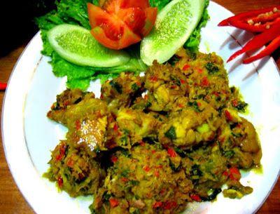 Resep Ayam Tinoransak Dan Cara Membuatnya Resep Ayam Resep Masakan Malaysia Resep