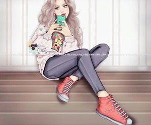Imagen De Girly M And Drawing In 2020 Girly M Girly Art Cute Girl Drawing