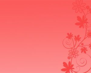 Free Red Flowers Power Point Template Free Powerpoint Templates Background For Powerpoint Presentation Powerpoint Background Design Red Flowers