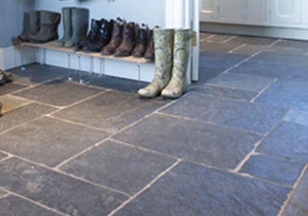 Faux Stone Vinyl Kitchen Floor Tiles Flooring Wood