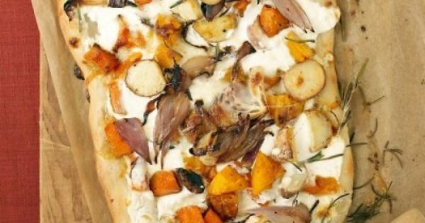 Roasted Fall Vegetable and Ricotta Pizza | Recipes-Pizza | Pinterest ...