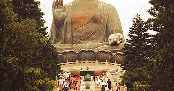 Big Buddha Ngong Ping, Outlying Islands, Hong Kong China - Amazing. Got