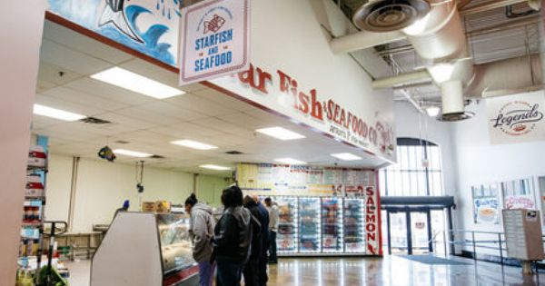 Gratiot Central Market Seafood Detroit Eastern Market