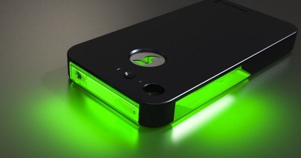 Never miss a notification with this flashing phone case.