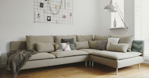 Ik mijn nieuwe s derhamn beige bank home living for Bank wohnzimmer