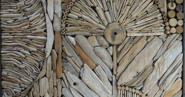 Kathy Killip - driftwood art