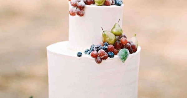 wedding cake with fruit filling a fruit filled floral california wedding martha stewart 26898