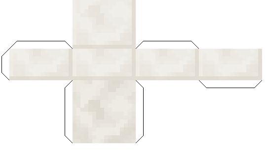 Papercraft Quartz Slab In 2021 Minecraft Printables Papercraft Minecraft Skin Paper Crafts