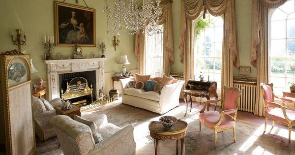 stunning elegant living room georgian   Sutton Park, North Yorkshire - a fine Georgian mansion ...