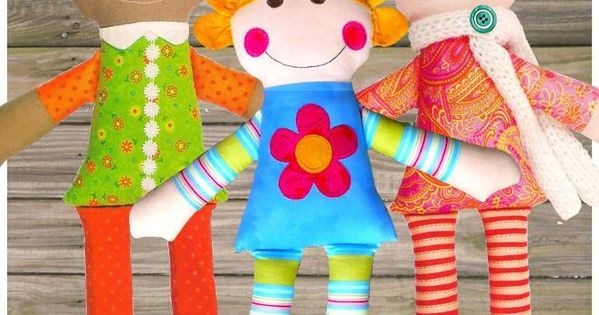 Best Friends Dolls by Red Boots | Sewing Pattern