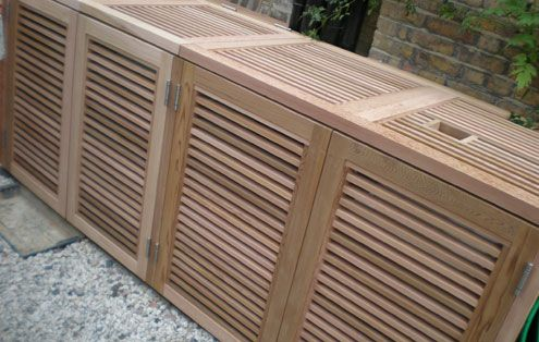 Contemporary Garden Bin Amp Recycling Stores Essex Uk The