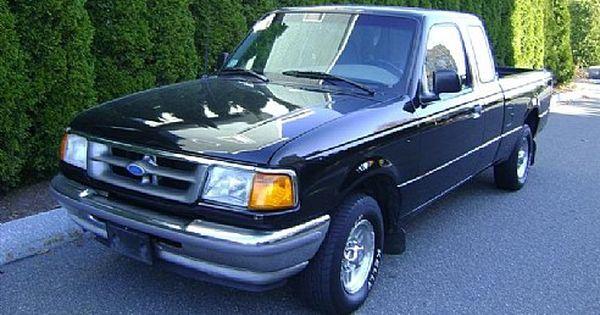 1996 Ford Ranger Xl Black Salem Ma Ford Ranger Ford Ranger Xl Cars For Sale