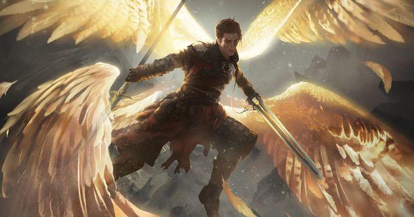 Angelic Gift On Behance Male Angels Angel Warrior Archangels