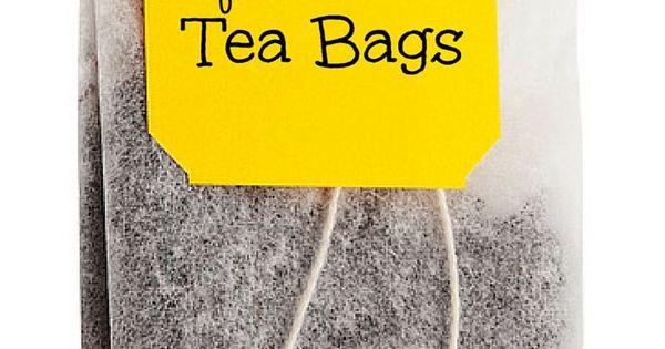 Uses for used tea bags drinking tea teas and bag - Uses for tea bags ...