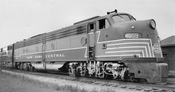 Henry Dreyfuss. Locomotora Hudson H8 para New York Central ... Henry Dreyfuss Train