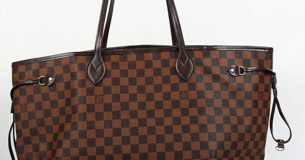 сумка Louis Vuitton Damier Ebene : Louis vuitton neverfull