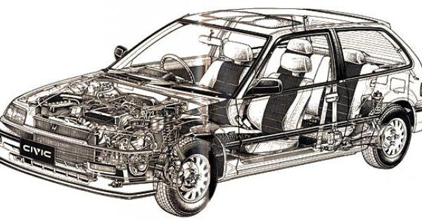 Civic Hatch Diagram Rally Car Civic Ef Car