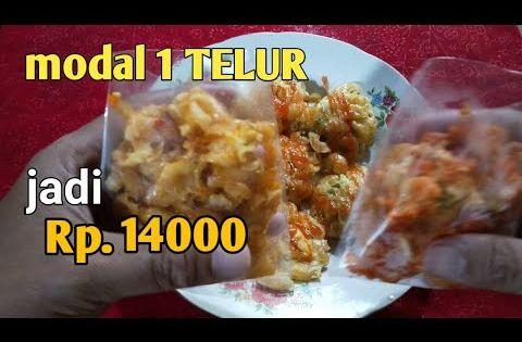 Usaha Jajanan 1000an Maklor Makaroni Telor Youtube Resep Makanan Makanan Telor