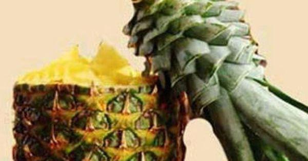 papagei ananas deko essen pinterest papageien v gel und bastelarbeiten. Black Bedroom Furniture Sets. Home Design Ideas