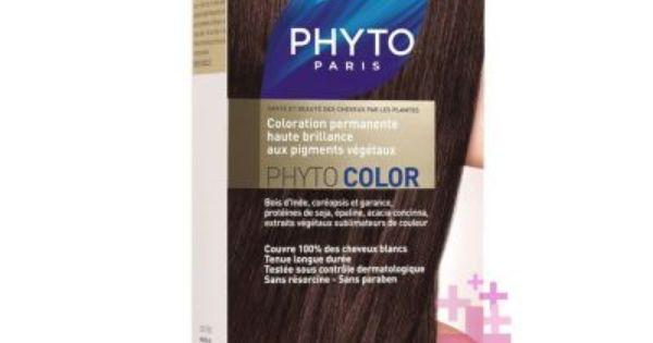 Phyto Phytocolor 5 Acik Kestane Sac Boyasi Sac Koyu Sarisin