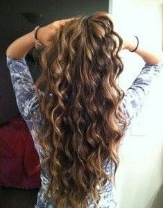 Different Types Of Perms With Pictures Hair Styles Thick Hair Styles Long Thick Hair