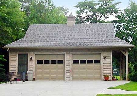 Plan 58548sv 2 Car Garage With Side Porch House Plans