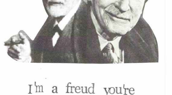 psychoanalyzing jokes Freud, jung and psychoanalysis douglas a davis 1 in his second letter, ferenczi refers to freud a paranoid woman, offers to contribute to freud's joke collection psychoanalyzing psychoanalysis: freud and the hidden fault of the father.