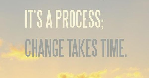 Change takes time. workout motivation exercise inspiration fitness health goals resolution determination