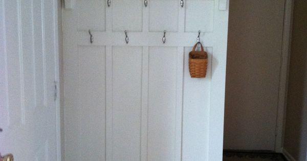 Behind The Front Door Coat Rack Utilize Every Nook And