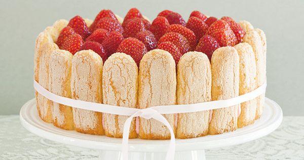 Charlotte aux fraises recettes ricardo gateau maison for Maison de charlotte aux fraises