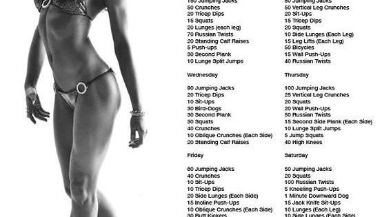 10 Week Workout Plan health fitness exercise PhysicalFitness WorkoutPlans