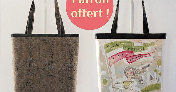 cab tin patron cabas gratuit sacs pinterest bags. Black Bedroom Furniture Sets. Home Design Ideas