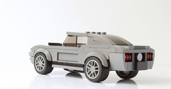 Lego Ford Mustang Shelby Gt500 Instructions Here Www Yout
