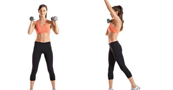 Dumbbell workout: twist your way to rock star arms -- from @Marsha