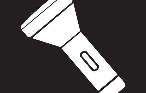 Flashlight Icon Symbol Sign Vector Icons Free Flashlight Free Vector Illustration