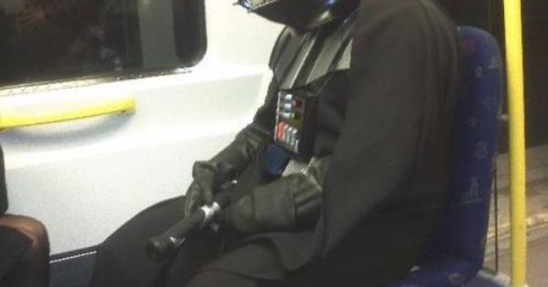 Darth Vader - stood up again keeps looking for love in alderaan