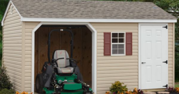 Sheds And Garages In West Chester Pa Four Seasons Lawn And Outdoor Living Shed Outdoor Living Outdoor Structures