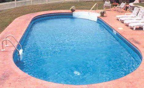 14\' x 28\' Oval Inground Swimming Pool Kit with 42\