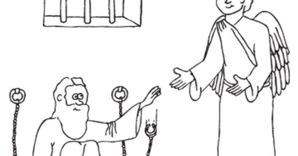 bible coloring pages acts 12 - photo#23