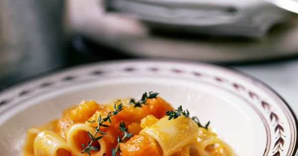 Rigatoni, Pumpkins and Veggies on Pinterest