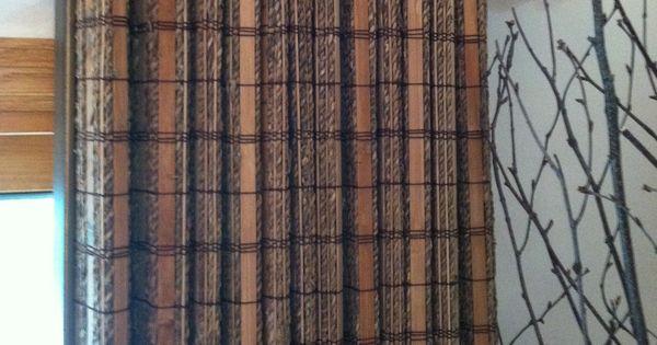 Averte natural fold horizon shades in pattern aislado for Natural woven flat fold shades