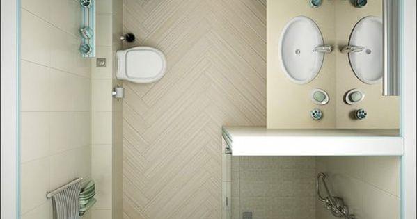 Galleria foto progettare un bagno di piccole dimensioni for Arredo bagno piccole dimensioni