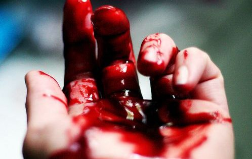 #blood #hand #cutting #vampire #thirst | Blood is life ...