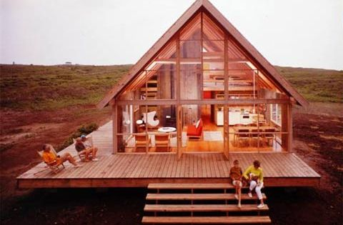 Prefab A-Frame Dream House - Jens Risom