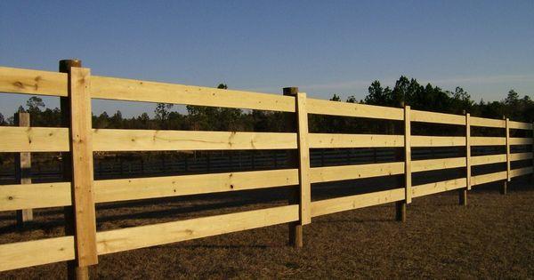 Wood Horse Fence Materials Fences Pinterest Keys