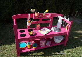 Jolemi Puppen Design Sommerkuche Kinderspielplatz Kinder Spielplatz Garten Spielzeug Draussen
