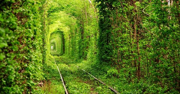 30 of the most beautiful abandoned places and modern ruins this tunnel