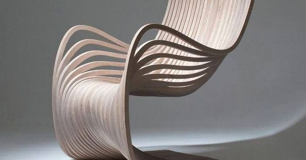 wooden chair showing movement and material conscious design m bel stuhl design und. Black Bedroom Furniture Sets. Home Design Ideas